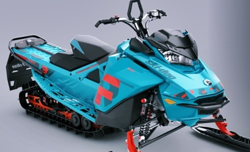 Photo of 2020 Ski Doo Freeride 137 Trail Riding